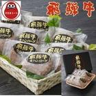 冷凍飛騨牛100%生ハンバーグ(8枚入)