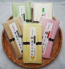 なかぶ庵そうめんアラカルト5種(各5束袋セット)オリーブ素麺、天日干し素麺、柚子素麺、梅素麺、黒豆素麺