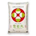 【送料無料】山形県産雪若丸 5kg