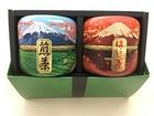 【送料無料】青富士・赤富士缶2本セット