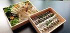 【送料無料】「京料理・鱧しゃぶセット」 2~3人前 国産松茸&丹波松茸入り 特製スープ付