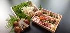 「亀岡シャモ(地鳥)のすき焼きセット」 3~4人前 外国産特上松茸(メキシコ・中国・韓国)をたっぷり、焼松茸用柚子醤油付