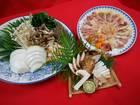 【送料無料】「亀岡シャモ(地鳥)と国産松茸&丹波松茸のすき焼きセット」  2~3人前