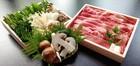 地元ブランド牛 「亀岡牛ロースと特上松茸(外国産)すき焼きセット」 3~4人前