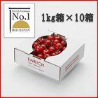 データプレミアムNo.1 ENRICHIミニトマト1kg10箱