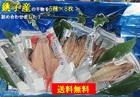 【送料無料】銚子港黒潮干し・銚子産真空干物詰め合わせ5種8枚 ※沖縄離島別途送料が発生いたします。