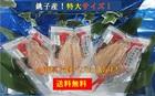 【送料無料】銚子港黒潮干し・銚子産特大釣り金目鯛開き3枚詰め合わせ ※沖縄離島別途送料が発生いたします。