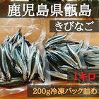 朝獲れ!!きびなご 生 冷凍便 鹿児島県 甑島産名物!!使いやすいパック詰め!1キロ