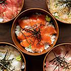 山形/福原鮮魚店 特選「こだわりヅケ丼」5種セット