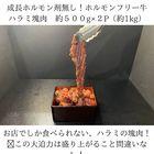 【塊で焼くハラミ!500g×2PSet(1kg)】成長ホルモン投与無し!安心安全なホルモンフリーフェッドビーフ使用!