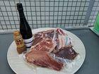 お肉のプロ!ステラBBQ!ICEA認定オーガニックワイン(ランブルスコ)と豪華BBQセット