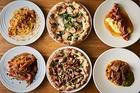スペシャル巣ごもり(パスタ2種&ピザ2種+メイン料理2種)セット