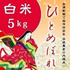 純精米 【会津米ひとめぼれ】 白米 27年産 5kg