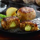 【送料無料】宮崎県産合挽き肉のチーズ入り生ハンバーグ