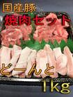 国産豚焼肉セット【冷凍】1kg