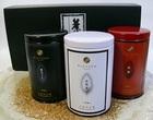 【送料無料】白煎茶・黒ほうじ茶・国産朝宮紅茶セット