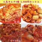 人気キムチ4種 5000円セットA