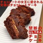 【送料無料】禁断のウルトラチョコレートケーキ プレミアム