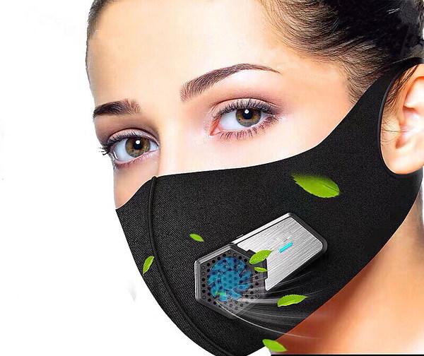【送料無料】ファンマスク 風扇マスク wearable Air Purifier