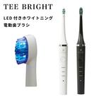 家庭用 LED付きホワイトニング電動歯ブラシ ティーブライト TEE BRIGHT