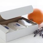 石けん百貨 天然ハーブの洗顔せっけん オレンジ&ラベンダー 110g×3個セット(化粧箱入)