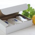 石けん百貨 天然ハーブの洗顔せっけん レモン&ミント 110g×3個セット(化粧箱入)
