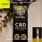 新商品 *レモン味* ブロードスペクトラムCBD(0.5ml) vapeリキッド入りカートリッジ