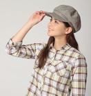 【送料無料】UVカットキャスケット小顔帽子