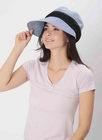 【送料無料】小顔に見える涼感UVカットクロッシェ帽子