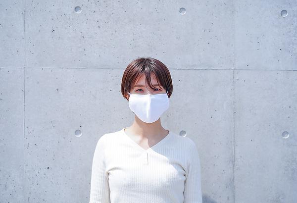 【在庫あり】水着素材の洗えるマスク『 紡/つむぎ 』【入金確認後5営業以内の発送予定となります。】