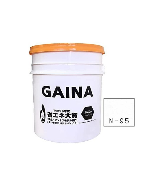 【送料無料】遮熱断熱塗料ガイナ14kg(白色)