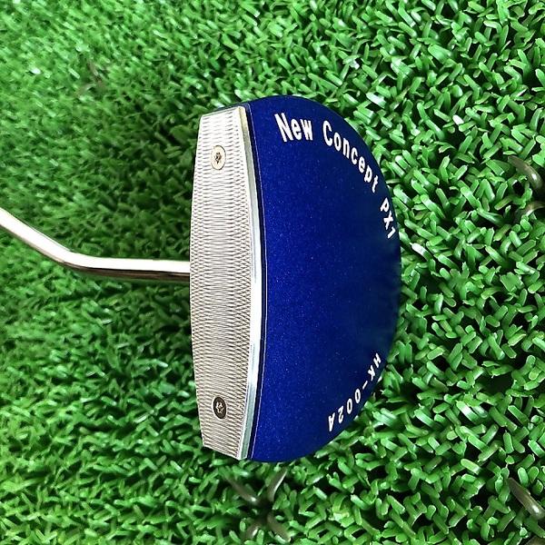 【送料無料】【特許】精密機械加工屋が作った特許取得 フェイス角度調整式 New Concept PX1 HK-002A ゴルフ パター ヘッド色:青