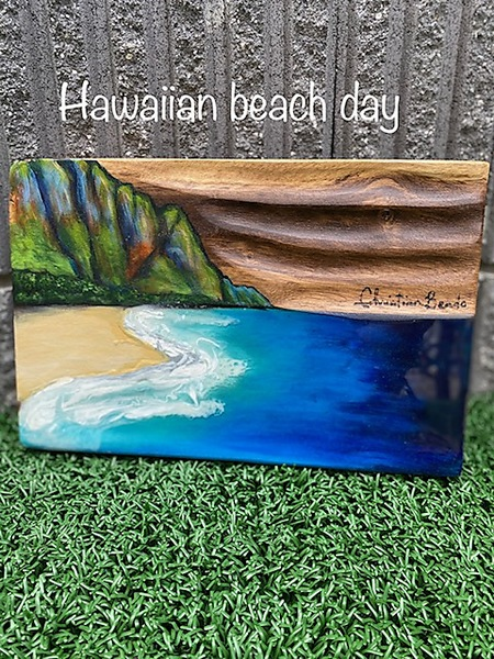 Hawaiian beach day
