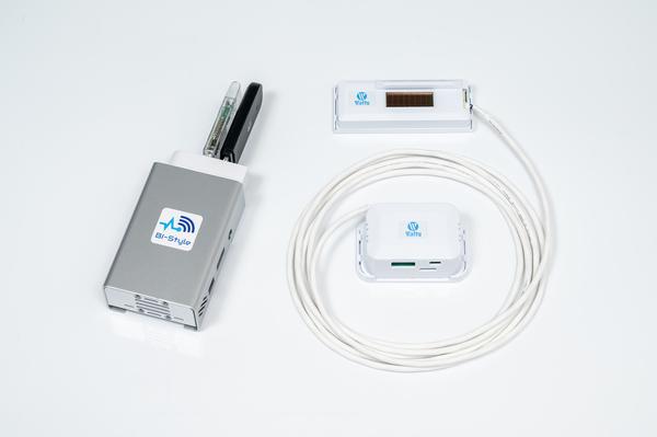 新型コロナウイルス対策 スマホで三密確認(本体、CO2温度湿度センサーセット)