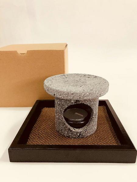桜島溶岩お茶香炉