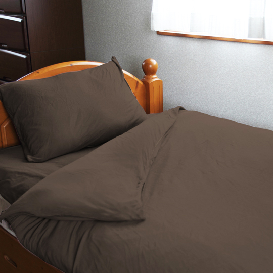 創業80年(1950年設立)のチャック屋が、布団カバー交換時の不満解決に取り組んで作った寝具カバー RakkuChan シングルサイズ 掛け用カバー 綿100% 天竺ニット生地