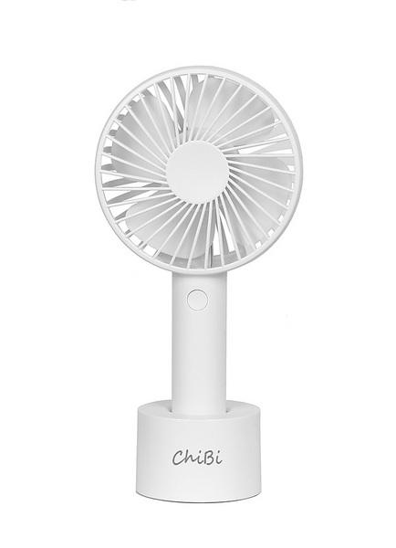 【送料無料】携帯扇風機 ChiBi(ACアダプタ有)