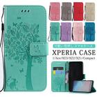 【送料無料】Xperia ace XZ3 XZ2 xz1 1 Ace SO-03L SOV40 SO-02L SO-01L SOV39 Xperia1 xz1compact ケース カバー エクスペリア 蝶 猫 おしゃれ 可愛い 手帳型ケース