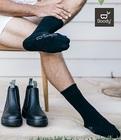 【オーストラリア発】オーガニックバンブー生まれ BOODY メンズ ブーツ ソックス
