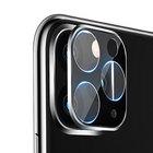 【送料無料】 Apple iPhone 11 11PRO 11PROMAX カメラレンズ用 強化ガラス アルミカバー 硬度7.5H レンズ保護ガラスフィルム