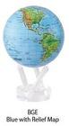 自転ソーラー地球儀