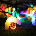 【送料無料】イルミネーション LED 屋外 ソーラー クリスマス ハロウィン 新年 LEDライト照明 電飾飾り 点灯8パターン 防雨 太陽光パネル 省エネ 蜂
