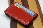 【送料無料】レザーケース クレジットカード ポイントカード入れ 5ポケット  本革