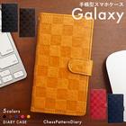 Galaxy 手帳型 スマホケース GALAXY S20 5G SCG01 S7 Edge SCV33 S8+ SCV35 S8 SCV36 Note8 SCV37 S9 SCV38 S9+ SCV39 Note9 SCV40 S10 SCV41 S10+ SCV42 A30 SCV43 Note10+ SCV45 A20 SCV46 ケース ギャラクシーケース ケース チェスパターン ベルト付き