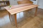 杉無垢材 ダイニングテーブル180