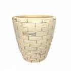 陶器鉢 レンガ調 ベージュ色