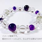 ~kaoru.stone~ 「あなたに必要」な石で作るオーダーメイドの開運ブレス 【男性用】 右手用浄化ブレスレット (メインが10mmサイズのストーン)