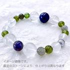 ~kaoru.stone~ 「あなたに必要」な石で作るオーダーメイドの開運ブレス 【男性用】 左手用引き寄せブレスレット (メインが14~16mmサイズのストーン)