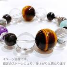 ~kaoru.stone~ 「あなたに必要」な石で作るオーダーメイドの開運ブレス 【男性用】 左手用引き寄せブレスレット (メインが18~20mmサイズのストーン)