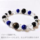 ~kaoru.stone~「あなたに必要」な石で作るオーダーメイドの開運ブレス 【女性用】 左手用引き寄せブレスレット (メインが12mmサイズのストーン)
